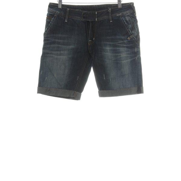 Campus Shorts dunkelblau Casual-Look