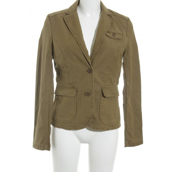 Campus Sweat Blazer green grey casual look