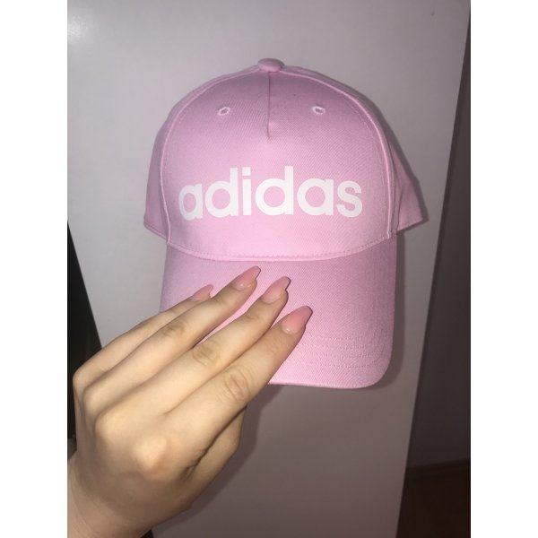 Adidas Berretto da baseball rosa chiaro Cotone