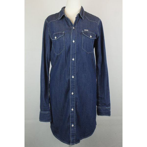 Carhartt Kleid Jeanskleid Gr. S denim blue (18/10/098)