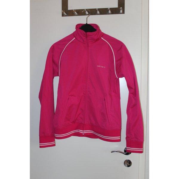 Carhartt Trainingsjacke pink mit Reißverschluss