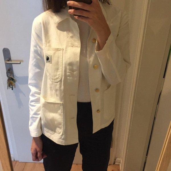 Carhartt Wip weiße Damen Jacke Women Denim