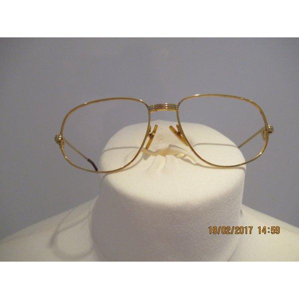 Cartier Gafas marrón arena-burdeos