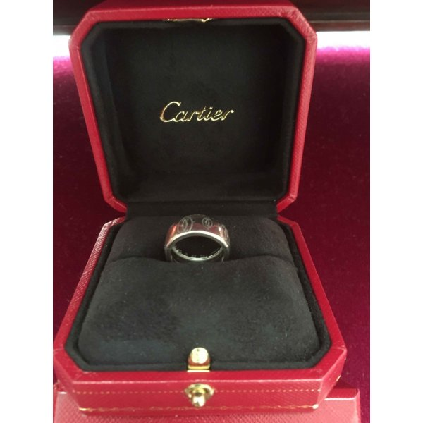 Cartier Damen Love-Ring 750er Weißgold
