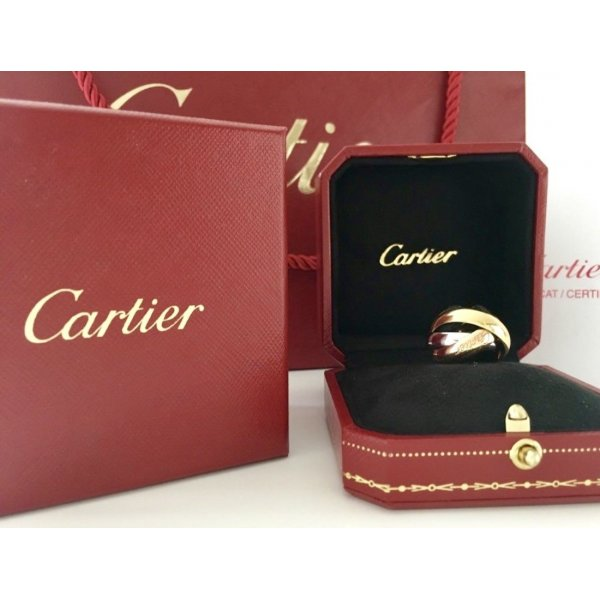 * Cartier * Trinity Ring LM breites Modell m. Box, Rechnung...Top & Edel !!!
