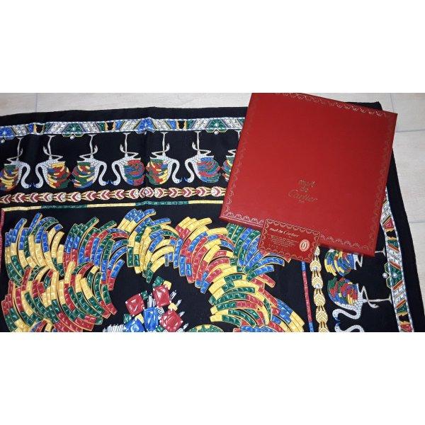 Cartier Pañuelo de seda multicolor Seda