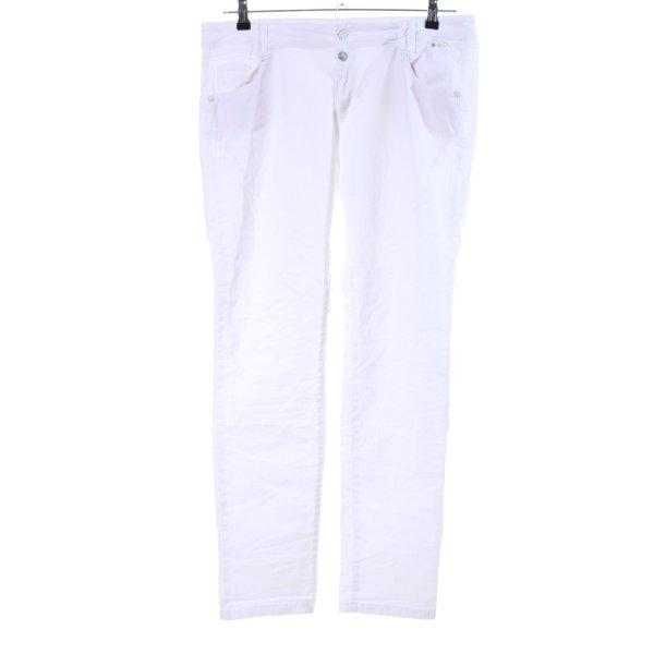 Cartoon Slim Jeans weiß Casual-Look