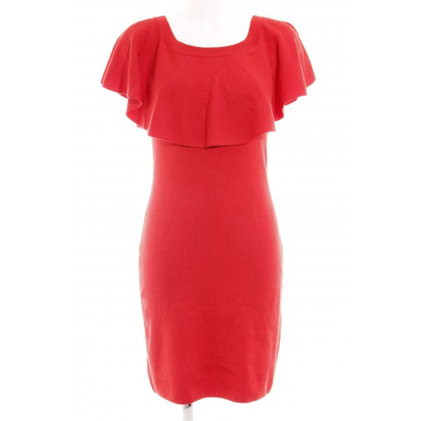 Catherine Malandrino schulterfreies Kleid rot Elegant