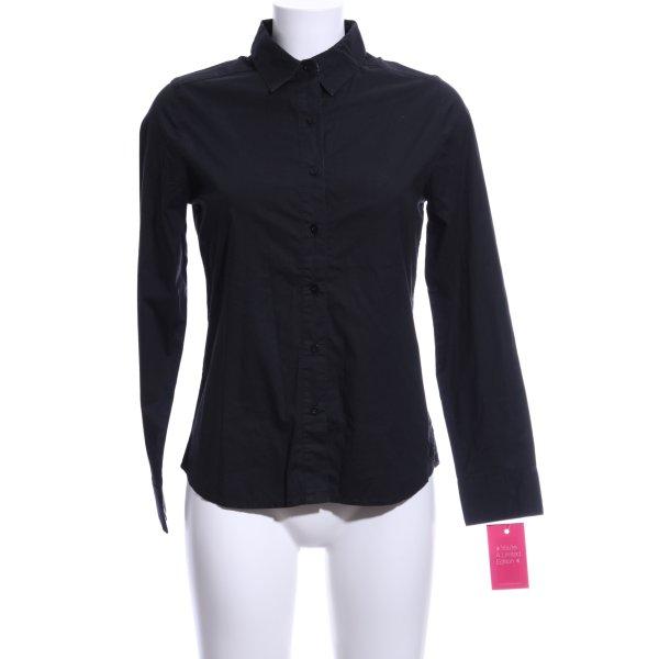 CC Double O Hemd-Bluse schwarz Business-Look