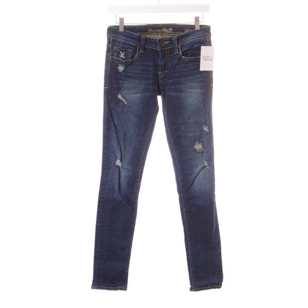 CC Double O Slim Jeans dunkelblau Casual-Look