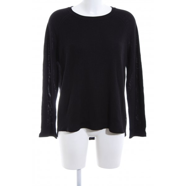 Cecil Oversized Pullover schwarz Casual-Look