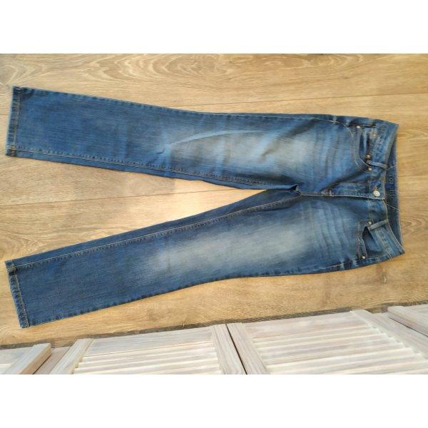Cecil Toronto Jeans in hellblau