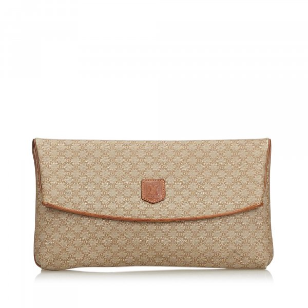 Celine Macadam Clutch Bag