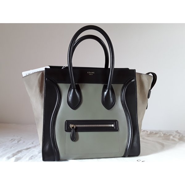 Céline Tricolore Mini luggage bag