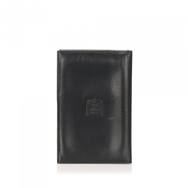 Celine Triomphe Leather Passport Cover