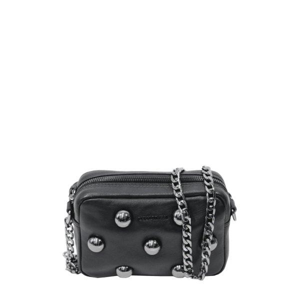 Cerruti 1881 Umhängetasche in Schwarz aus Leder