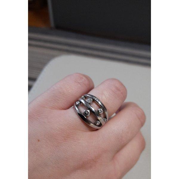 Cerruti Ring silberfarben Glanz-Optik Gr. 58