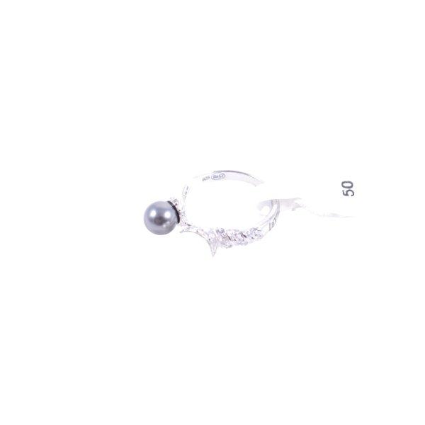 Cerruti Silberring mehrfarbig Elegant