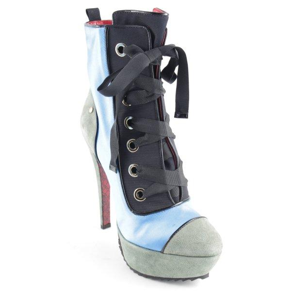 Cesare Paciotti High Heels mehrfarbig extravaganter Stil