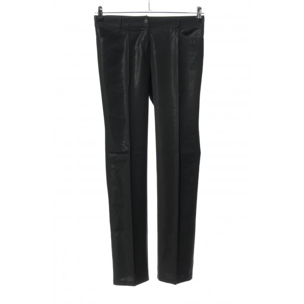 Chanel 7/8-Hose schwarz Elegant