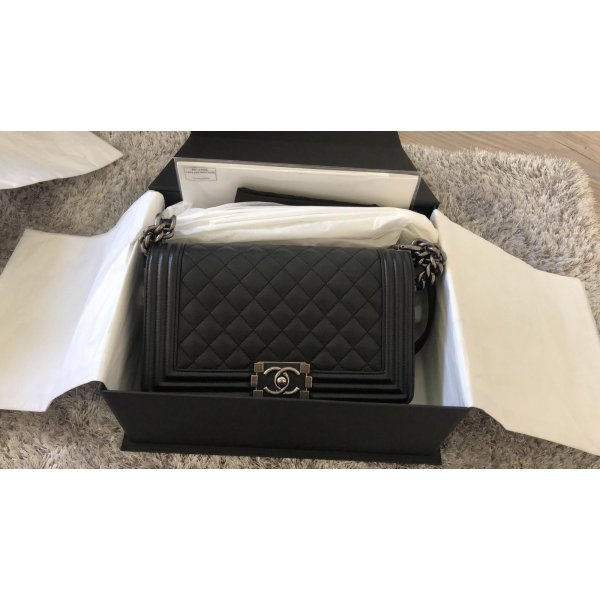 Chanel Boy Original Soft Kaviarleder