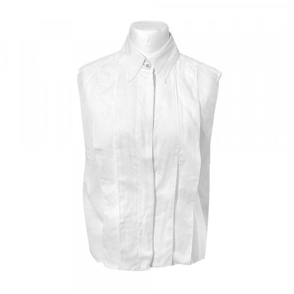 Chanel Hemdbluse, Top in Weiß