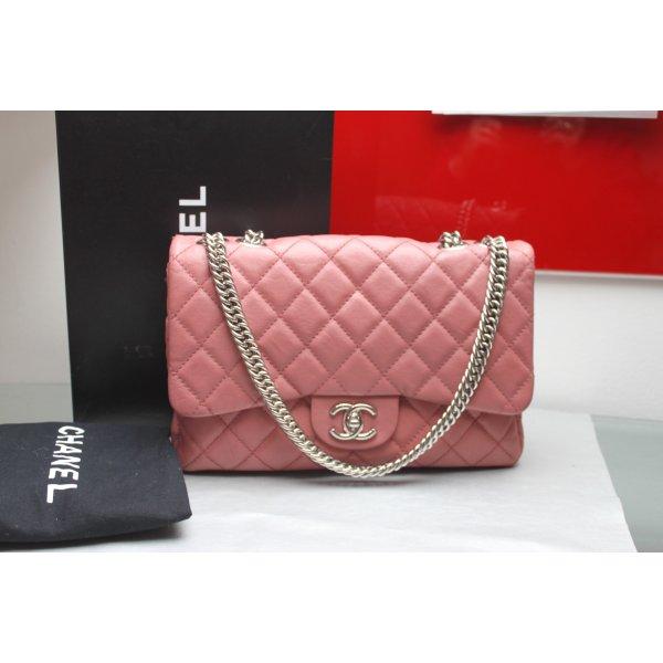 Chanel Jumbo Limited Bijoux Kette Altrosa mit Box und Papiere