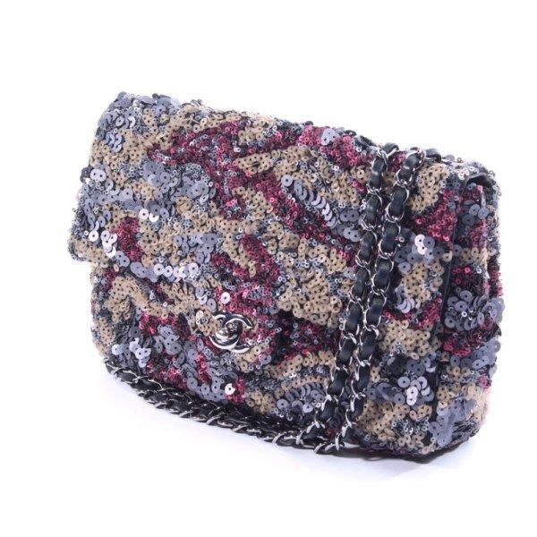 CHANEL Pailletten Tasche