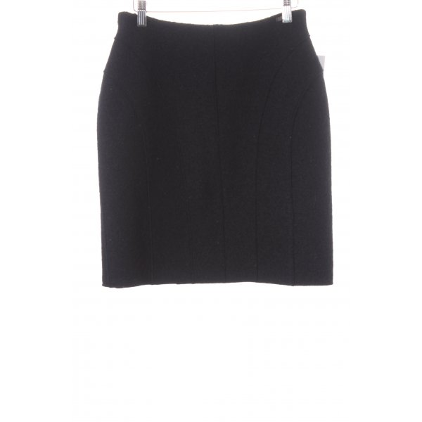 Chanel Wollrock schwarz Casual-Look