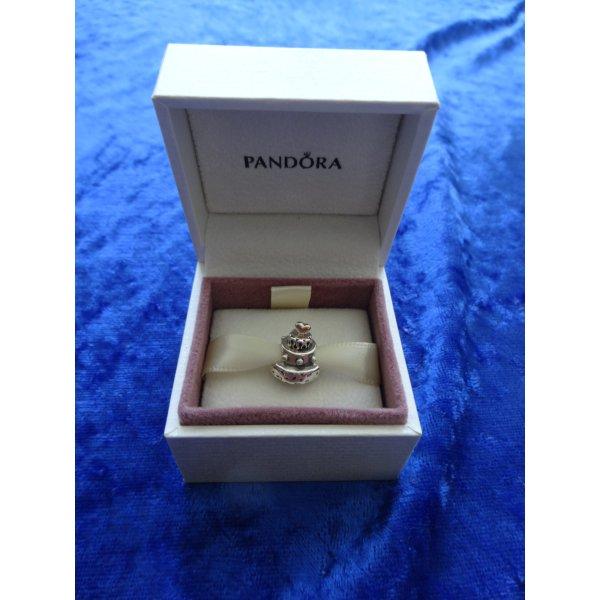 Charm von PANDORA - Torte mit Goldherz