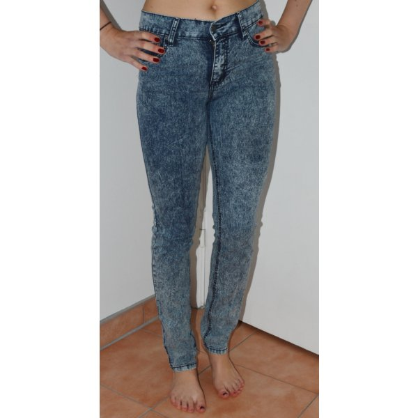 Cheap Monday - High Waist Jeans - tight ice wash