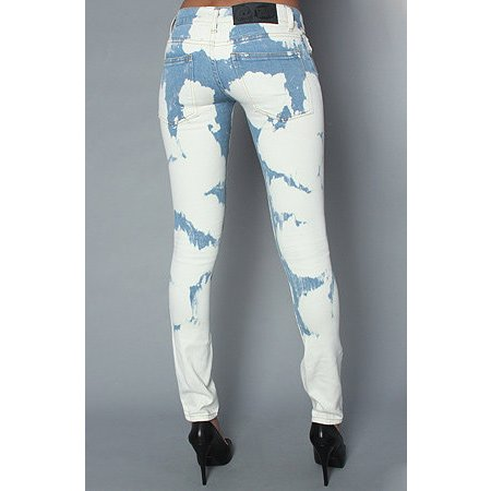 Cheap Monday Jeans Chemical Blue Zip Low 27/32