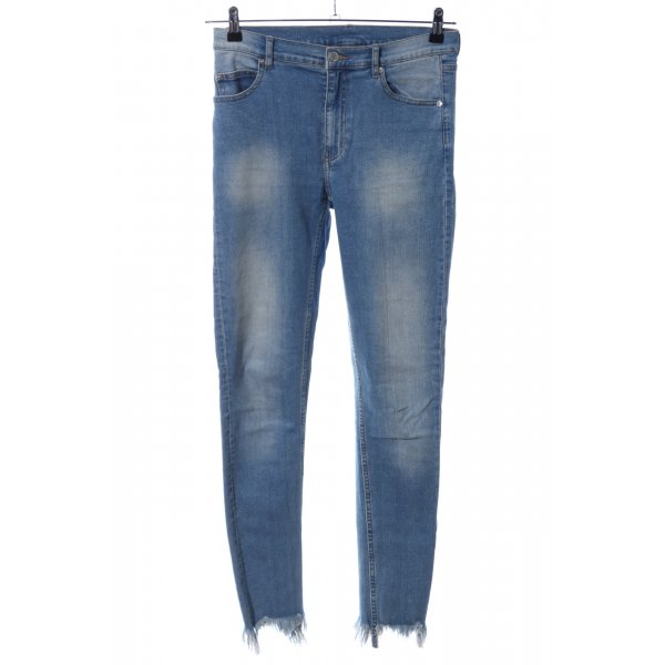 Cheap Monday Röhrenjeans blau Casual-Look