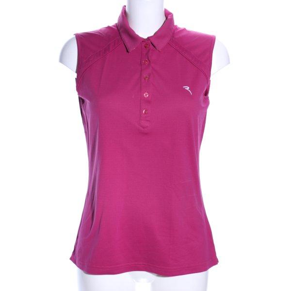 Chervo ärmellose Bluse pink Casual-Look