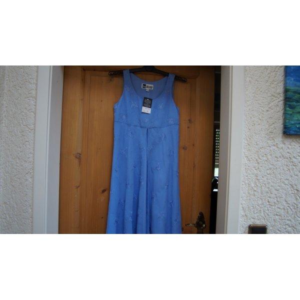 #Chiffon-Kleid mit Stickerei, Gr. 34, #hellblau, #Together