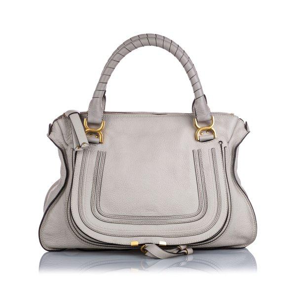 Chloe Large Marcie Leather Handbag