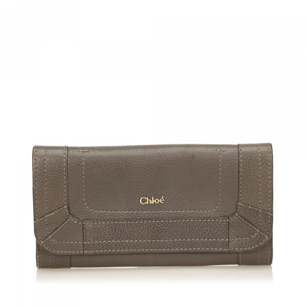 Chloe Leather Paraty Wallet
