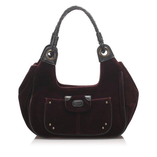 Chloe Suede Shoulder Bag