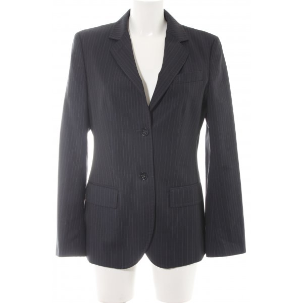 Cinque Kurz-Blazer dunkelblau-weiß Nadelstreifen Business-Look