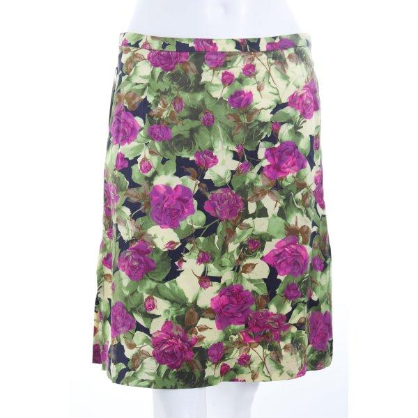 Cinque Seidenrock florales Muster Romantik-Look