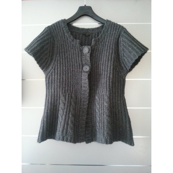 Cinque, Strickjacke, Pullover, grau, Größe 42 / XL