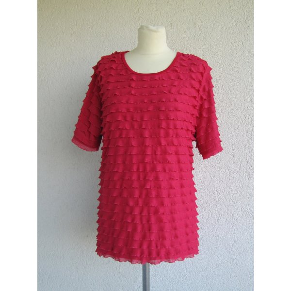 T-Shirt pink-raspberry-red polyester