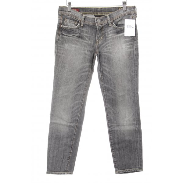 Citizens of Humanity 7/8 Jeans grau-dunkelgrau Casual-Look