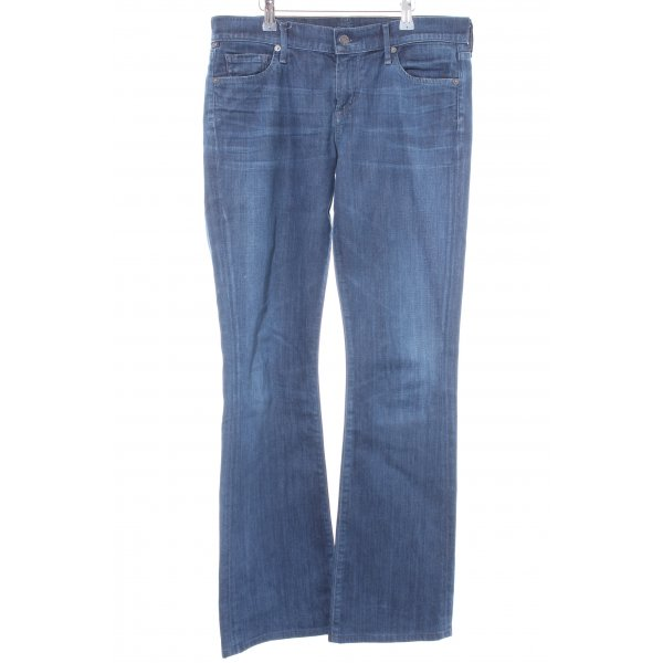 Citizens of Humanity Boot Cut Jeans dunkelblau Casual-Look