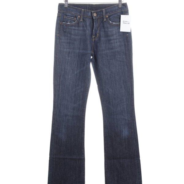 Citizens of Humanity Boot Cut Jeans dunkelblau-stahlblau Casual-Look