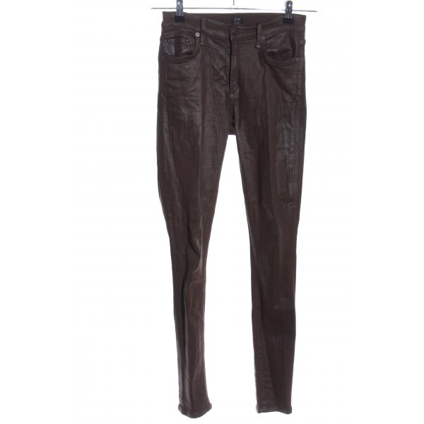 Citizens of Humanity Five-Pocket-Hose schwarz Casual-Look
