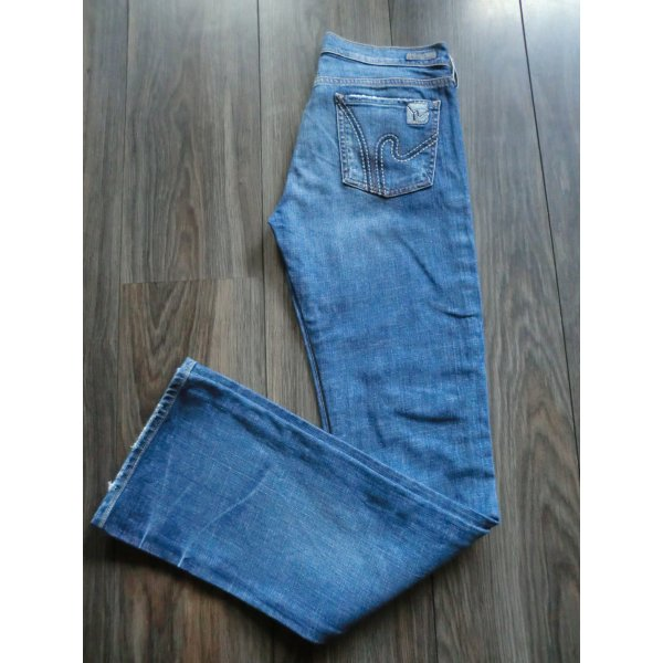 Citizens of Humanity Jeans Low Waist Bootcut * Gr. 28