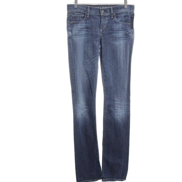Citizens of Humanity Röhrenjeans dunkelblau Jeans-Optik