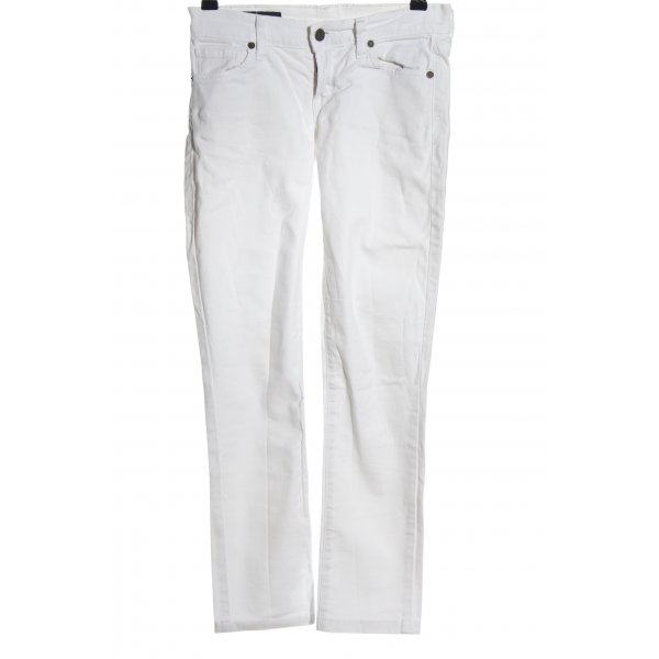Citizens of Humanity Slim Jeans weiß Casual-Look