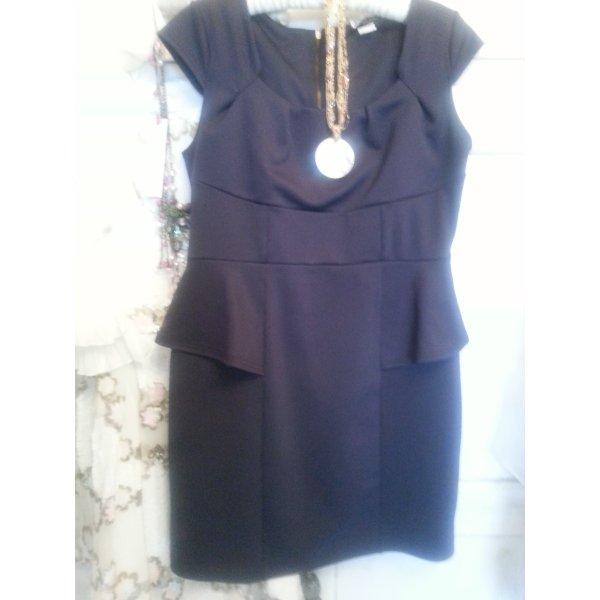 CLASS*** Figurschmeichler Kleid in marineblau Gr. 42